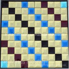 Espejo de mosaico de diamante patrón (HD052)