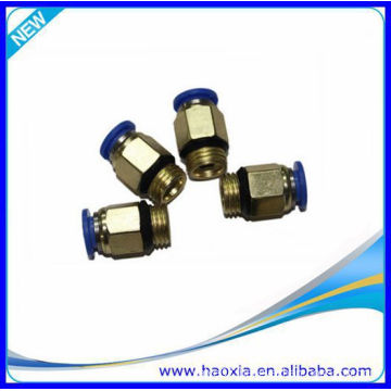 China Wholesale Quick Connect Tube Plastic Pneumatic Fitting With PC1/4-02