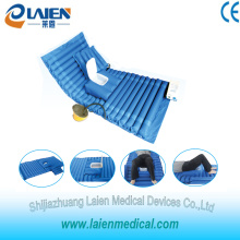 Medical air mattress overlay with toilet