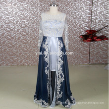RSE650 Silver Grey And Teal Mother Of The Bride Dress With Sleeves Short And Long