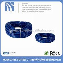 40M RJ45 Cable de interconexión LAN de red Ethernet Cable de conexión azul