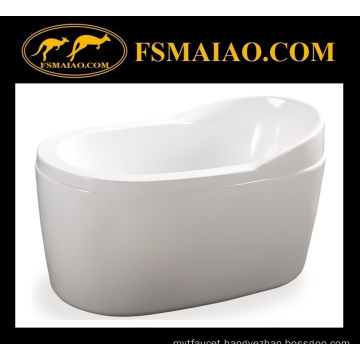 Special Price for Ellipse Acrylic Freestanding Soaking Bathtub (BA-8505B)