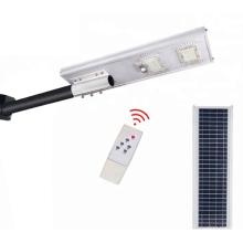 Lâmpada de rua solar LED inteligente IP65