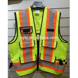 hi vis garment reflective construction american safety vest