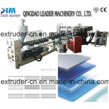Hot Sale Plastic PP/PE/PC Hollow Grid Machine/ Hollow Grid Sheet Making Machine
