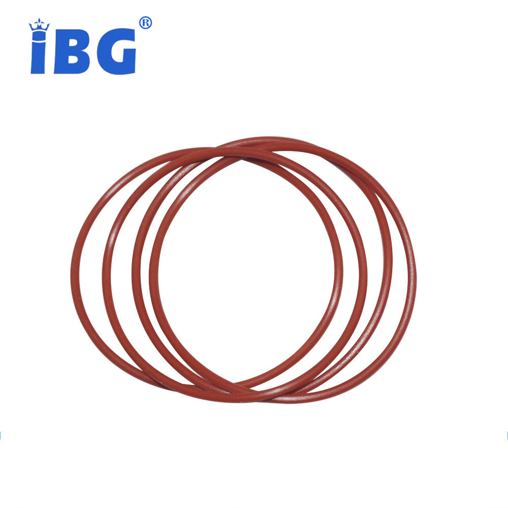 Red Silicone Rubber O Rings
