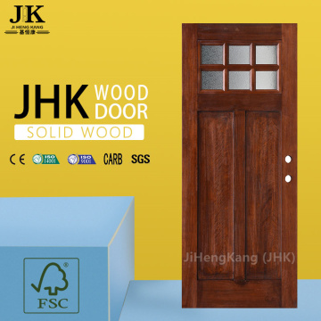 JHK-Wood Home Doors Craftsman Style European Wooden Door Design