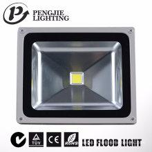 Projekt 50W im Freien, das LED-Flutlicht für Stadion-Quadrat beleuchtet