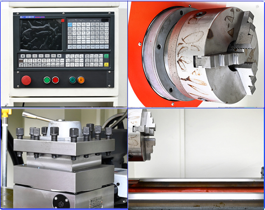 flat bed CNC Lathe for Metal