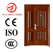Sliding Security Double Steel Door for Egypt
