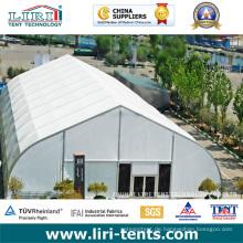 Großes 30m gebogenes Dach-Festzelt-Aluminiumzelt für Partei-Hochzeit