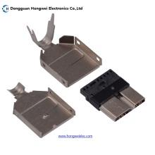 Ein Typ männlich 10 Pin Micro USB 3.0 Stecker