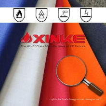 ASTM F1959 100 cotton twill fireproof material fabric for oil industry workwear