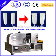 ultrasonic plastic soft tube sealing machine for paste and lotion