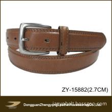 2013 Casual Brown Man Split Leather Belt (ZY-15882)