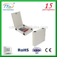 ftth boîte de distribution de câble de fibre optique pour les têtes mobiles menées