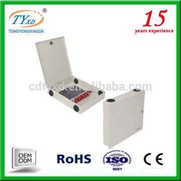 Caja de distribución de cable de fibra óptica ftth para cabezas móviles