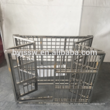 Großer Edelstahl-Hundekäfig-Katzen-Käfig für Verkauf