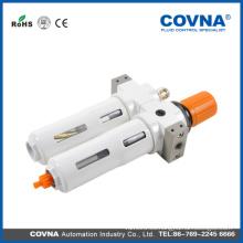 Válvula de aire de 2 unidades válvula reductora de aire con lubricador y manómetro