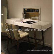 2015 New Design White Wood Mirror Dresser (SD-25)