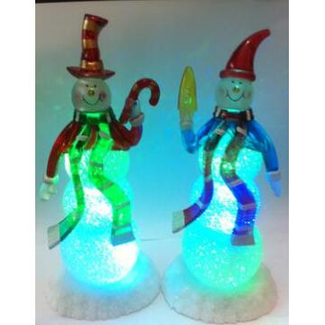 Color Changing Led Snowman Christmas Lights