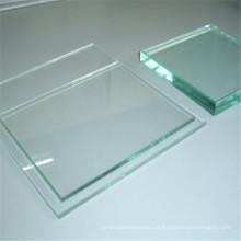 Vidro claro / manchado do espelho do flutuador para o vidro decorativo