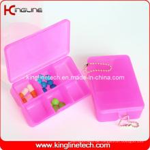 Plastic Square Pill Box (KL-9064)