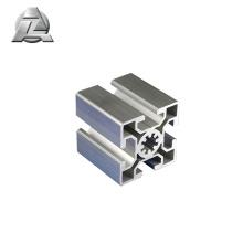 Profilé en aluminium extrudé anodisé pour fente en t