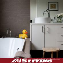Armários de banheiro da melamina com vaidade do espelho dos punhos (AIS-B014)