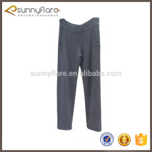 Ladies' cashmere knitted pants