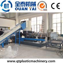 Sistema de peletização de plástico / Máquina de re-granulação / Máquina de reciclagem de plástico