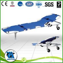 BDST101-A Aluminum Alloy Foldable stretcher/ Light weight Foldable stretcher/Hospital stretchers