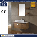 Wall Hung Simple Style Melamine Bathroom Cabinet with Counter Top