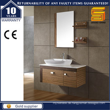 Wall Hung Simple Style Melamin Bad Schrank mit Counter Top