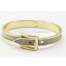 Casual Women Alloy Wristband Gold Adjustable Size Bangle