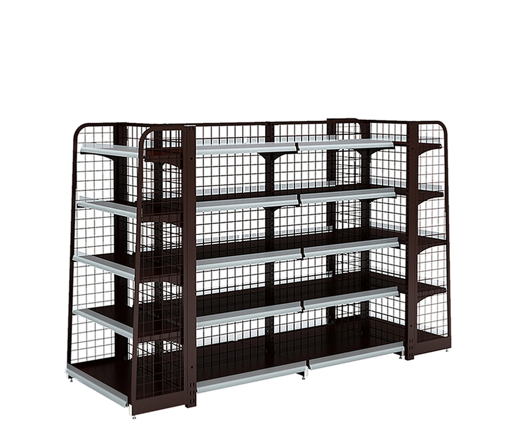Supermarket Backnet Display Rack