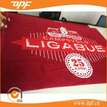 Toalha de praia com impressão de veludo de algodão, toalha de piscina (DPF1098)