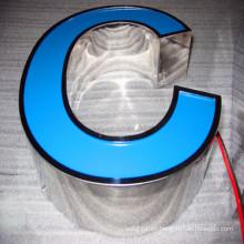 Outdoor Trim Cap LED Shop Signo de iluminación