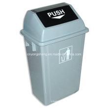 Mittelgroße Mülleimer-Plastikform