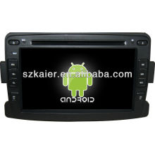 Android System car dvd player for Renault Duster/Logan with GPS,Bluetooth,3G,ipod,Games,Dual Zone,Steering Wheel Control