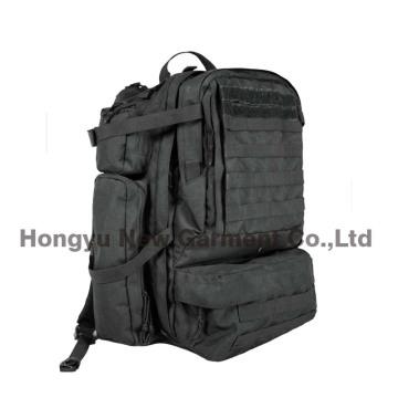 Sac à dos noir lourd à l'armée militaire (HY-B096)