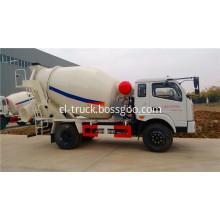 FOTON 4x2 5 yard concrete mixer truck