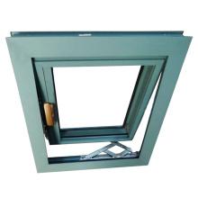 Aluminium Inclinaison et rotation des fenêtres contre les tempêtes à rupture thermique