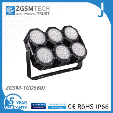 560W High Power LED Floodlight for Sport Field Lighting