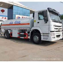 Sinotruck HOWO 20000 Liter Stainless Steel Water Tank Truck