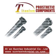 Aluminum Alloy Tube with Titanium Receiver Prosthetic