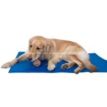 Esteira fresca não-tóxica dobrável do animal de estimação do gel para o cão