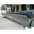 Tubo de FRP / GRP para pulverização