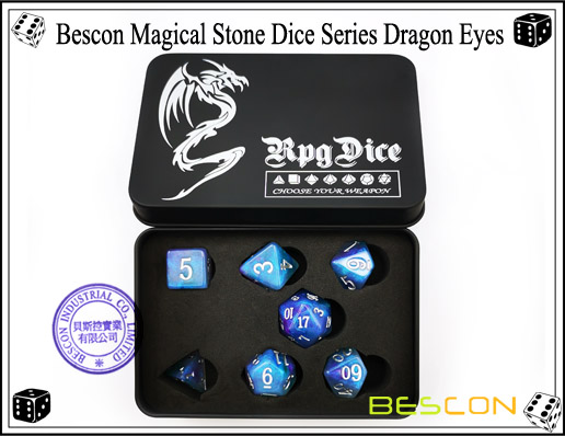 Dragon Eyes Dice-6