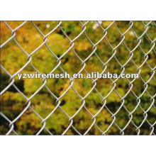 Galvanized coated chain link mesh
